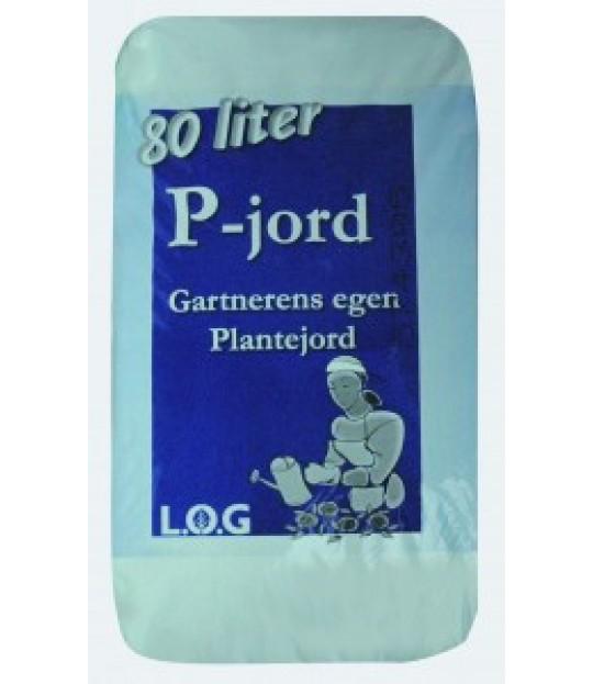 Plantejord P-jord 80 ltr, 33 sk_pall