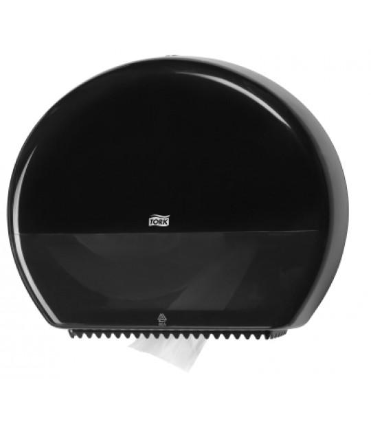 Dispenser Toalett Jumbo, svart