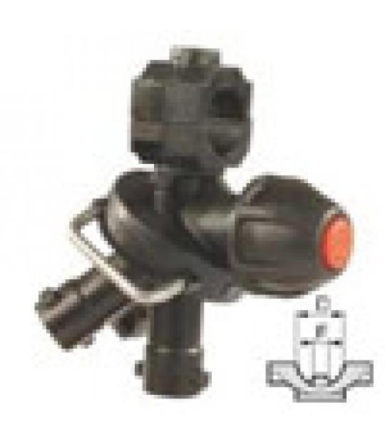 Dyseholder trippel stillbar 3_4_ - 7mm hol