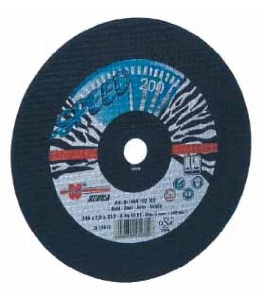 Kutteskive Z. Blå speed 125x1,6x22,2