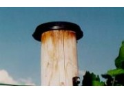 Kappe til stolp, Ø 100mm