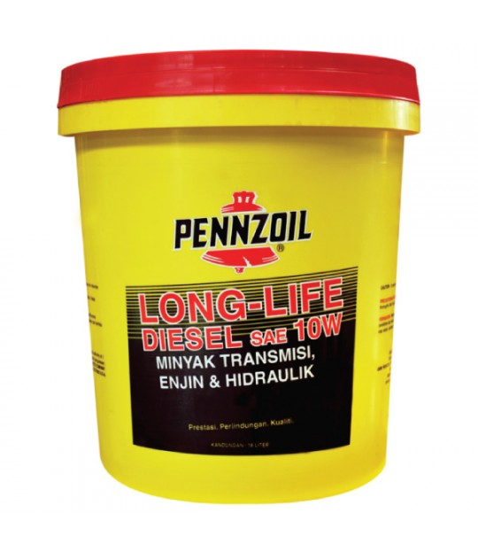 Pennzoil Long-Life HD 10W-30, 19 ltr.