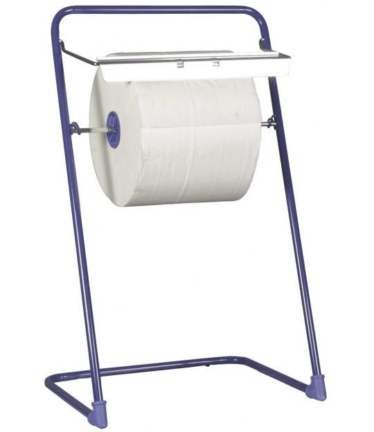 Golvstativ for industripapir, blå
