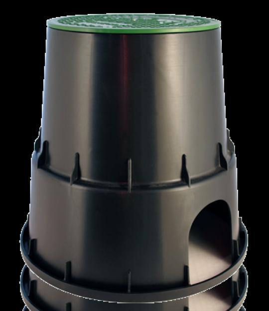 Ventilbrønn EzOpen PZC RN25, Ø25 H=261mm