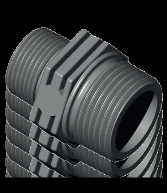 Reduksjonsnippel m/O-ring 1 1/2
