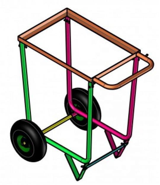 Plukkevogn med hjul