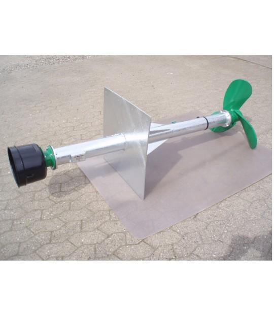 Veggmiksar m/rett plate, 150 cm