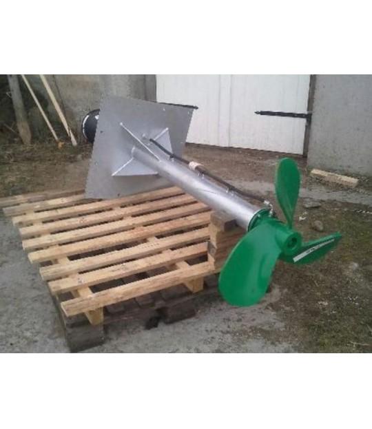 Veggmiksar m/skrå plate, 150 cm