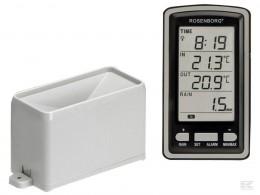 Regnmåler trådløs med temperatur