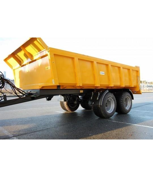 Dumperhenger Dinapolis RAEX 9,5 tonn, 400/60x15,5 hjul