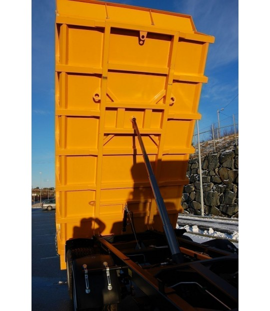 Dumperhenger Enaksel Dinapolis 8 tonn, 520/50x17 hjul