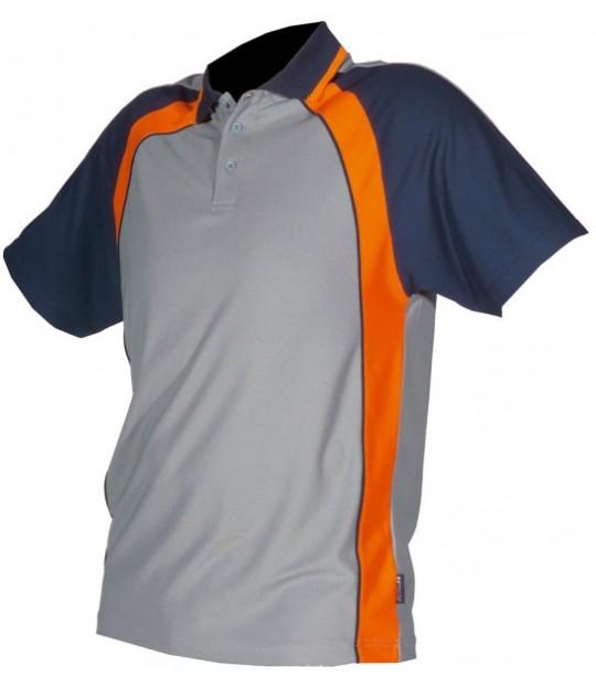 Tennisskjorte Cooldry Grå/Marine
