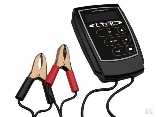 Batteritester CTek 12V blysyre 8-15V, 200-1200 EN