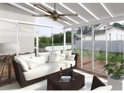 Terrasse og vinterhage