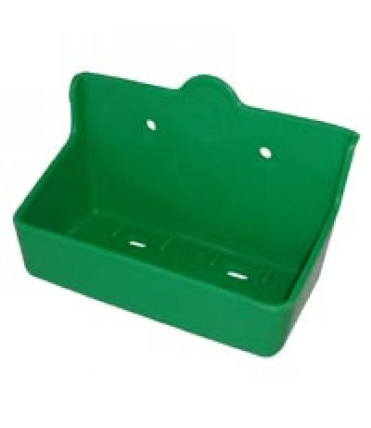 Saltsteinholder grønn, for 2 kg stein