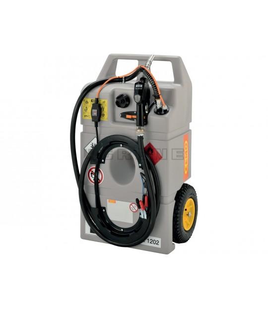 Dieseltrolley 100 liter CEMO + Centri S 12 V 25L/min