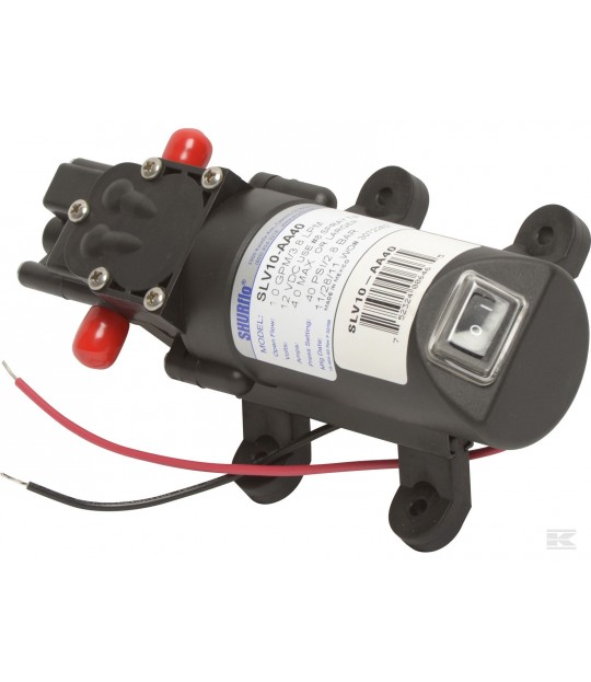 Motorpumpe 25 psi 1,36 ltr pr min 45-0292 Agrifab