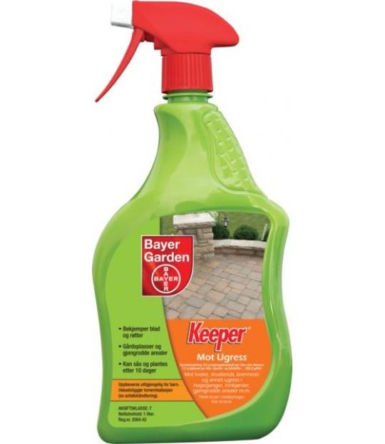 Ugressmiddel spray Keeper TOTAL 1 liter