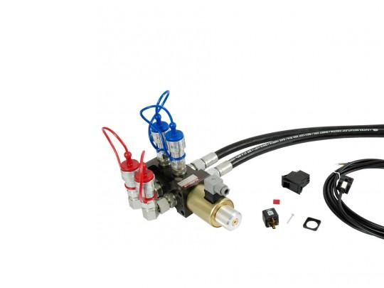 Omskifterventil KVH-6/2-10-12DC-G1/2-1 ventilsett