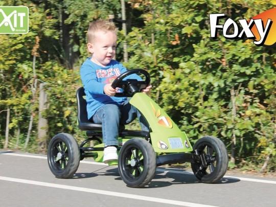 Gokart trøbil, Exit Foxxy, 2-5 år