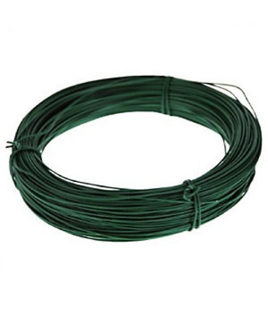 Bendsletråd grønn plastbelagt 2,2/2,7mm, 167 meter, 5 kg