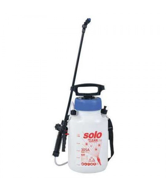 Lavtrykksprøyte Solo 305A, 5 liter, Viton ph 1-7