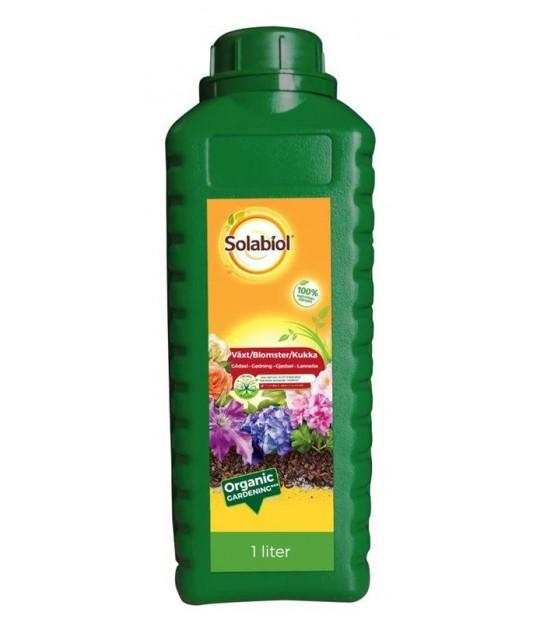 Solabiol organisk plantenæring 1 liter