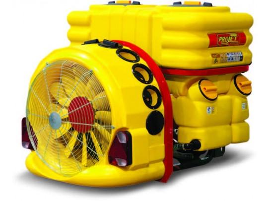 Tåkesprøyte ProJet StarMix Control 1000 liter, 2 gear