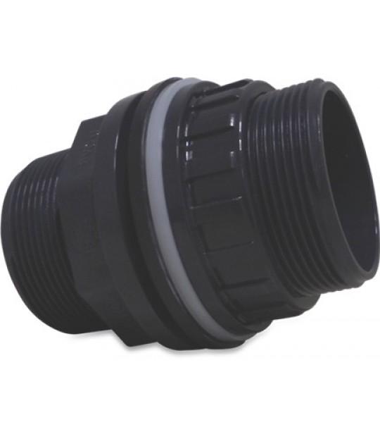 Gjennomføring Mega PVC-U 32mm x 1 1/4