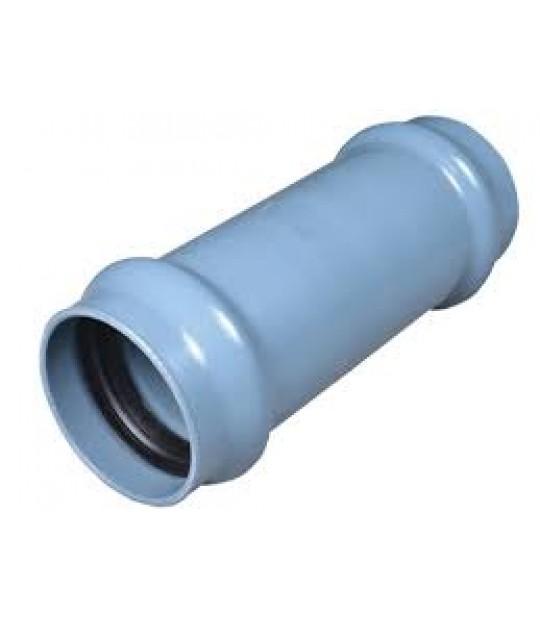 Glidemuffe PVC-U 63mm 10 bar Grå