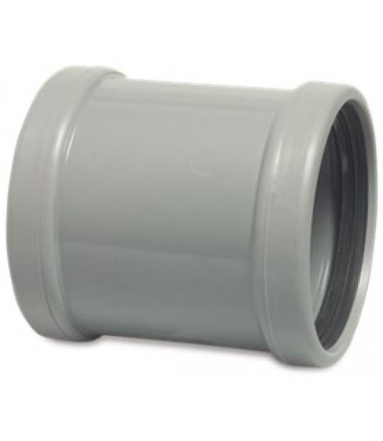 Reparasjonsmuffe PVC-U SN4 160mm x 3,2mm grå