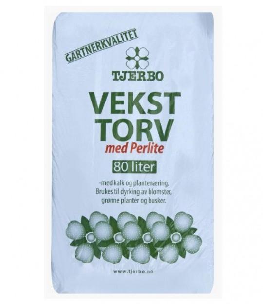 Veksttorv m/Perlite 80 liter, 36 sk/pall
