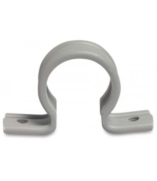 Rørklemme Zadel PVC U 63 mm