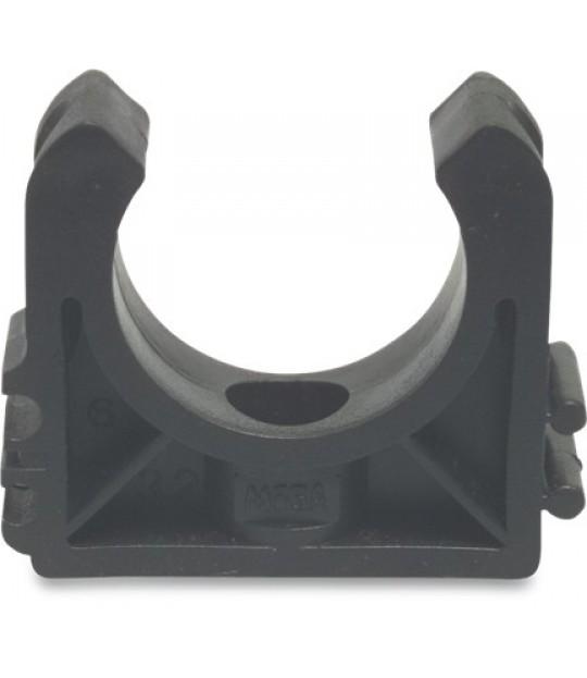 Rørklemme Mega PP u/bøyle 25mm