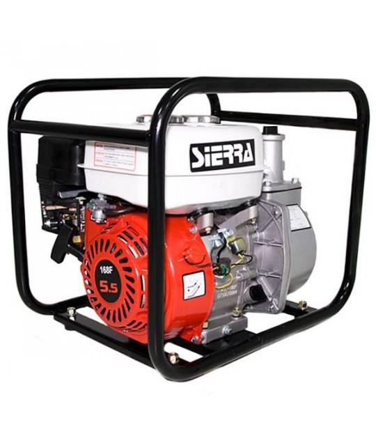 Pumpe Sierra rentvann 30 m3/time bensin 4-takt 5,5hk