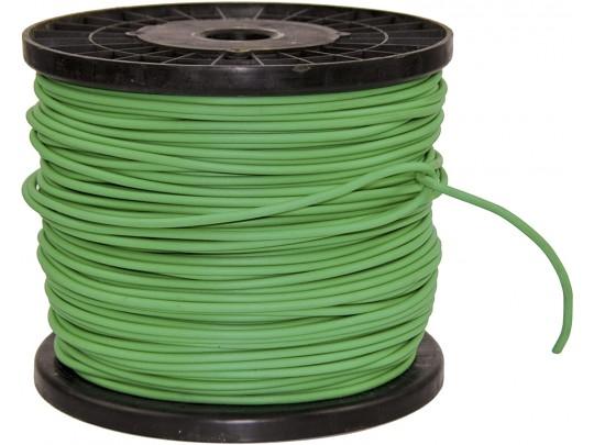 Oppbindingsstrømpe 4mm grønn, spole 300 meter