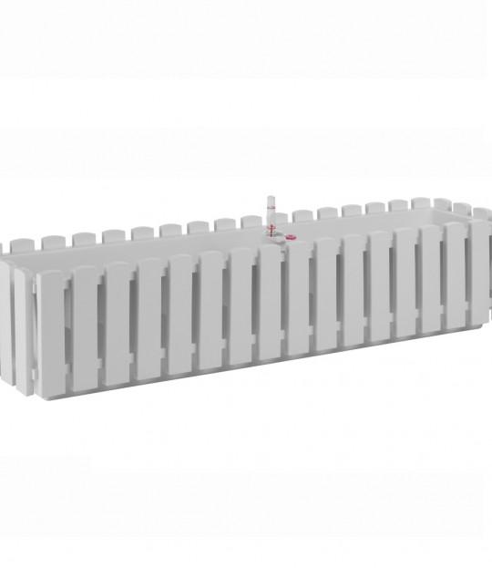 Selvvanningskasse Fency 75 cm Hvit