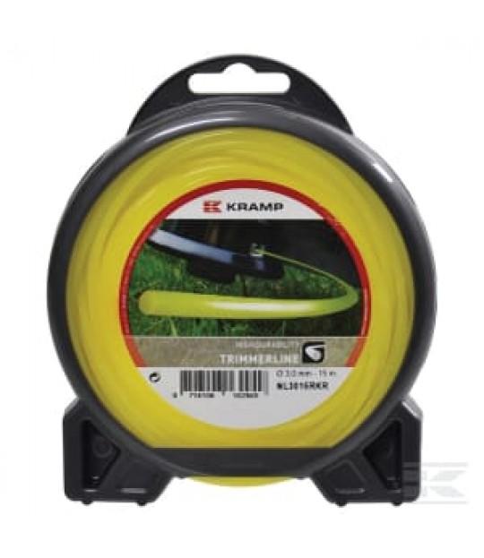 Trimmetråd Rund gul 2,65mm x 72m