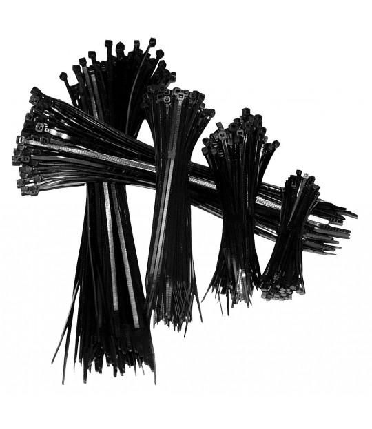 Strips svart 141x3,6 mm, UV bestandig