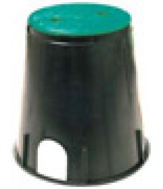 Hydrantboks rund, Ø 22,5 cm lokk