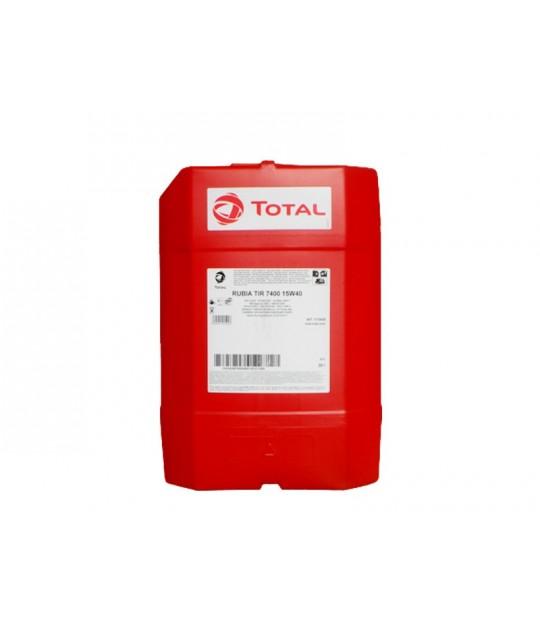 Motorolje Total, 20 liter, Rubia TIR 7400 15W-40