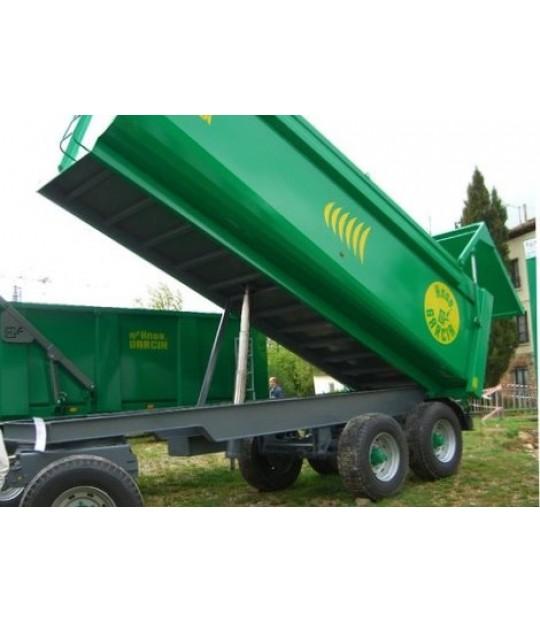 Tørrgjødselvogn Garcia Triton 95 - 10 m3