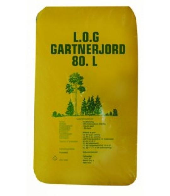 Gartnerjord LOG, 80 liter, 30 sk_pall