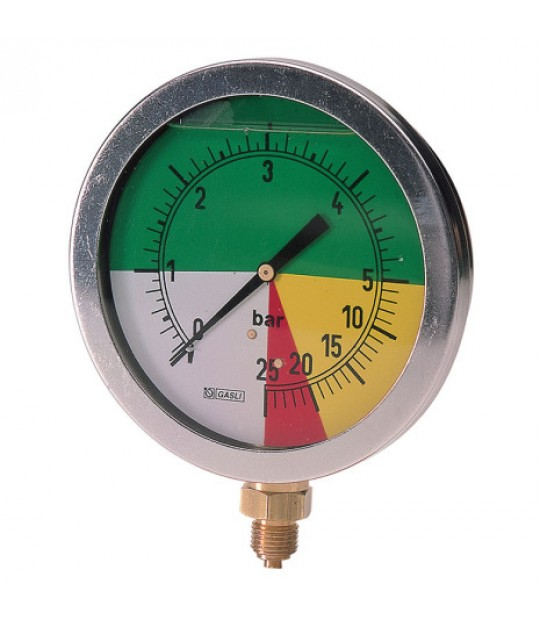 Manometer 0-5/25 100mm Radial