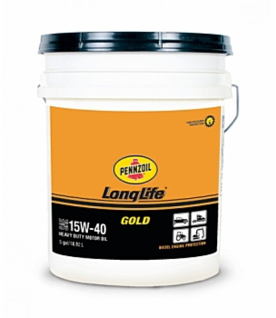 Pennzoil Long-Life Gold 15W-40, 19 ltr.