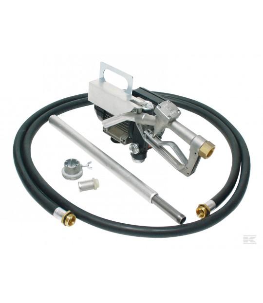 Dieselpumpe 220 V til tønne, m/4m slange og pistol